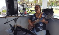 Clark Rodriguez at  Benny's on the Beach