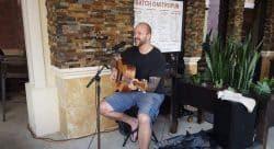 Mitch Herrick at  C.W.S. Bar and Kitchen