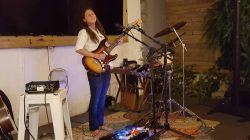 Victoria Cardona at  Village Music Wellington