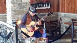 Joey George at  South Florida Fair Beer/Wine Garden