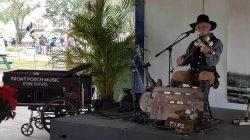 Ron Davis at  South Florida Fair Windows Pavilion