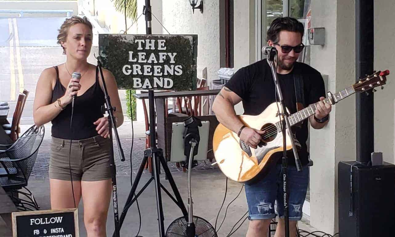 The Leafy Greens Band at Old Key Lime House