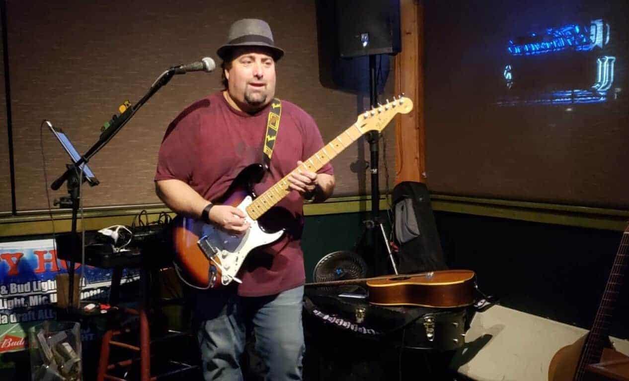 Rob Arenth at Village Music Wellington