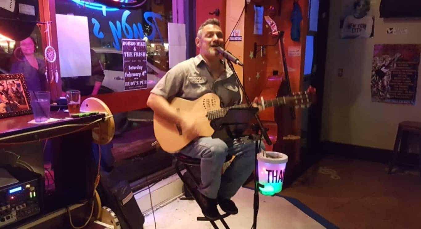 Steven Vincent at Kickback Neighborhood Tavern