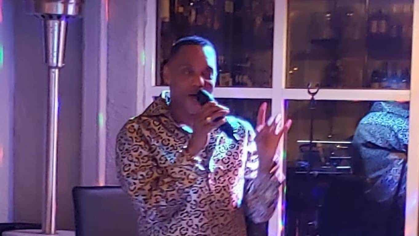 "Larry Johnson's ""Essense of Motown"" at Cafe Centro"