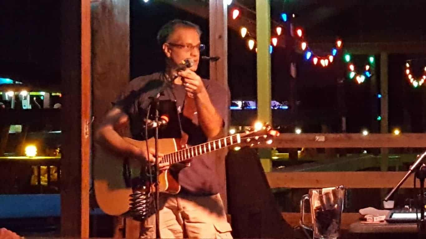 Mark Pisarri at Kickback Neighborhood Tavern