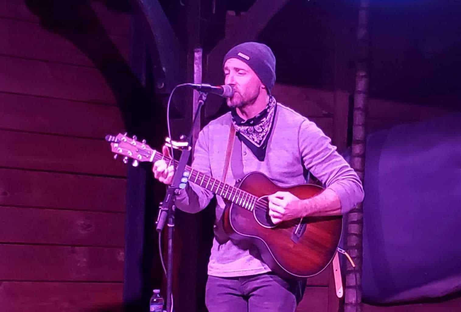 Chris Springer at Village Music Wellington