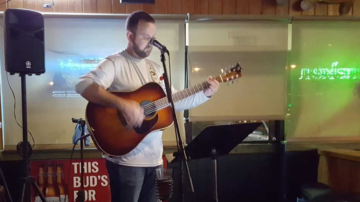 B.J. Parks at Steam Horse Brewing