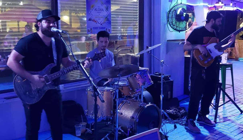 Jay Valor Band at Copper Blues